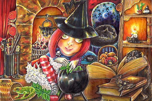 PRINT of Witch's brew