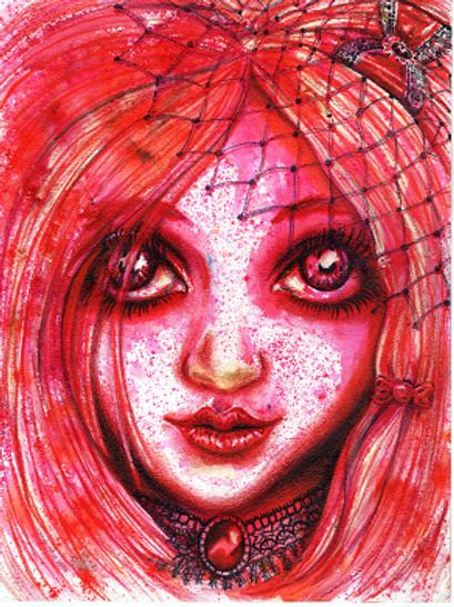 Scarlett Goth girl