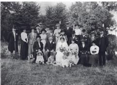 John Bygrave & Elsie Denson wedding Sept