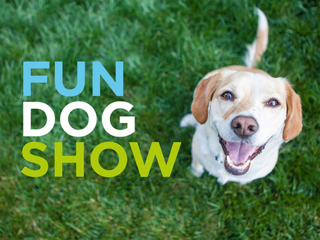 Get in Training for the Rushden Dog Show!