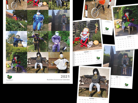Scarecrow calendars - limited edition - pre-order now!
