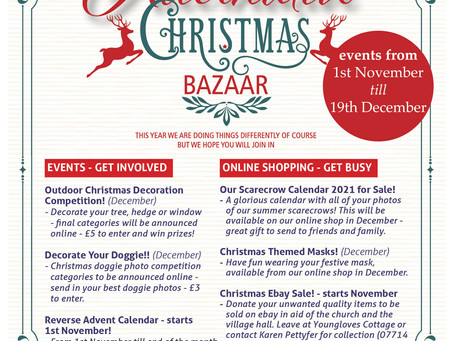 Our Alternative Christmas Bazaar is coming!