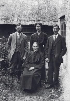 John Amelia George and Charlotte Church