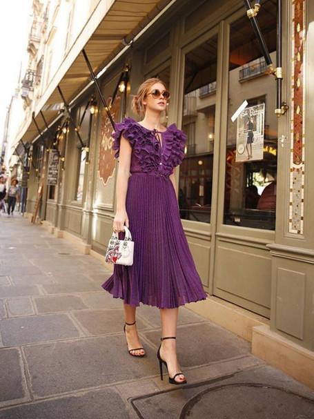 A cor do ano pela Pantone: Ultra Violet.