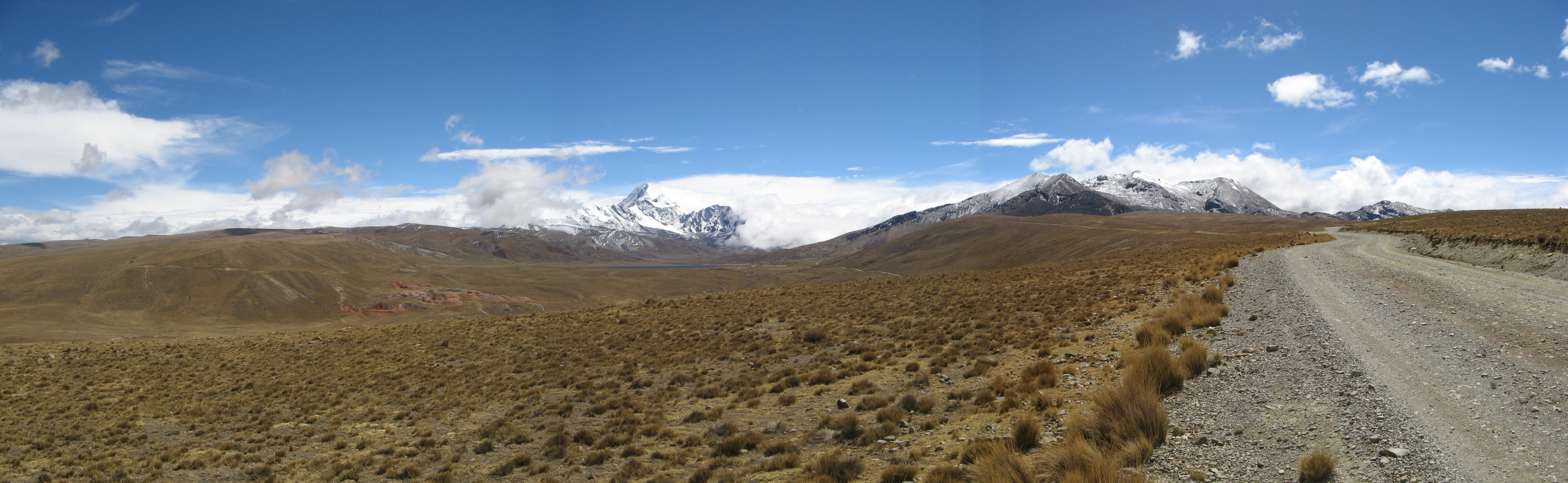 Panorama Chacaltaya 2