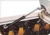Шейкер инкубатор. Пневматический доводчик крышки.