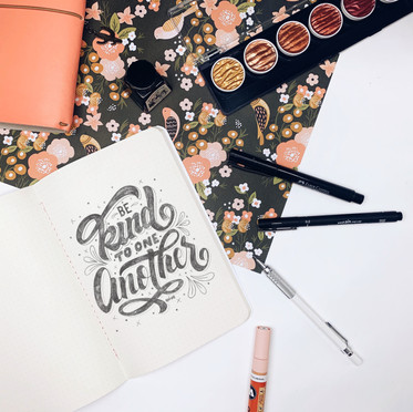 LETTERING ANALÓGICO