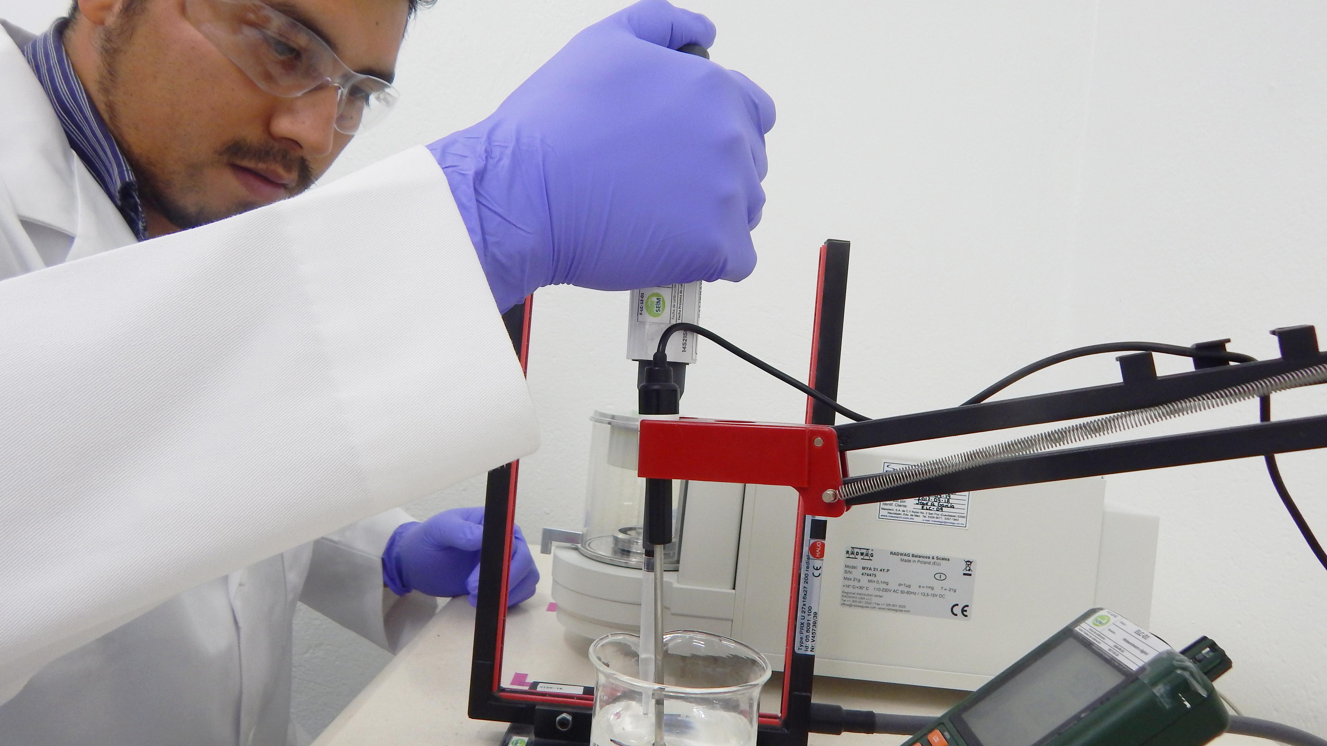 Calibración de micropipetas