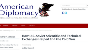 How U.S.-Soviet Scientific and Technical Exchanges Helped End the Cold War