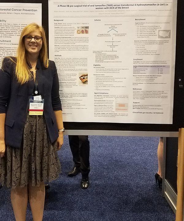 Kelly presents a Trials in Progress Poster at ASCO 2018