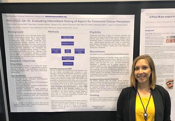 Katrina presents a Trials in Progress Poster at ASCO 2018