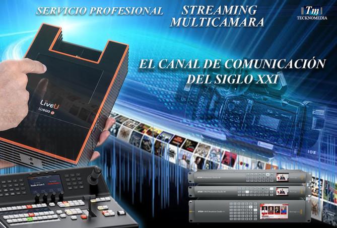 Streaming Profesional Multicámara