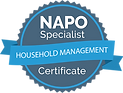 NAPO Specialist Badge - Household Manage