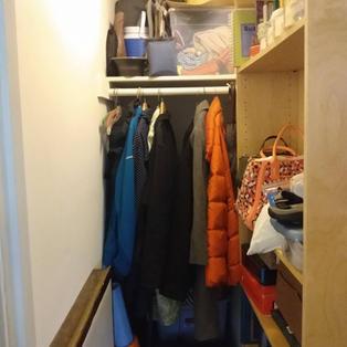 Rachel's Hall Closet