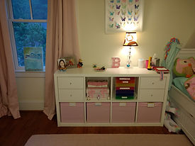 kids organized dresser