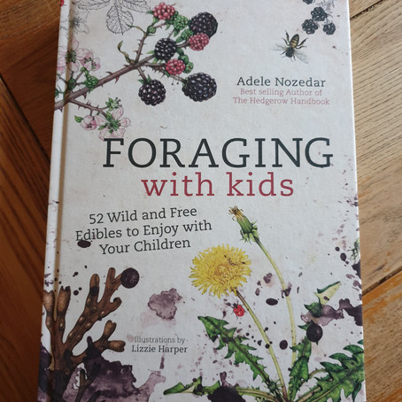 Guest Book Review:Foraging with Kids by Adele Nozedar
