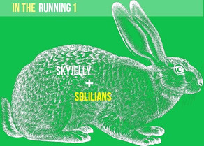 Out Now: In The Running 1 / Skyjelly + Solilians