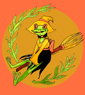 Frog Witch