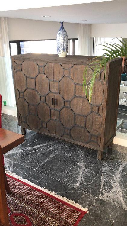 Grid Door 140 Cabinet