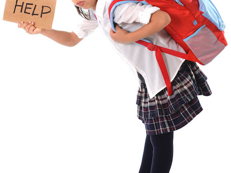 Happy BACK to School: Backpack Safety