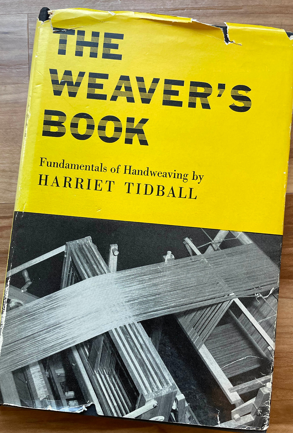 Cover of Harriet Tidball book: The Weaver's Book