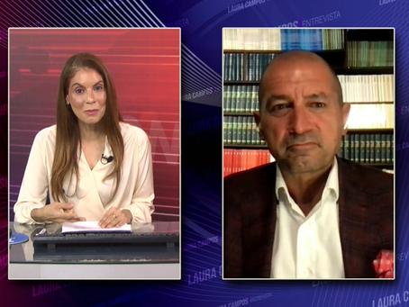 Laura Campos Entrevista - Eurico de Santi
