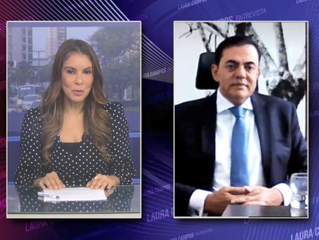 Laura Entrevista - Marcos Tolentino