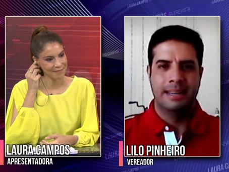 Laura Campos Entrevista - Lilo Pinheiro