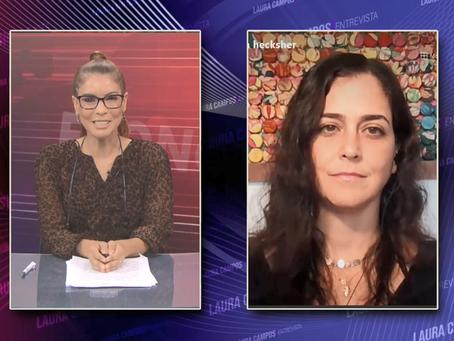 Laura Campos Entrevista - Carolina da Cunha