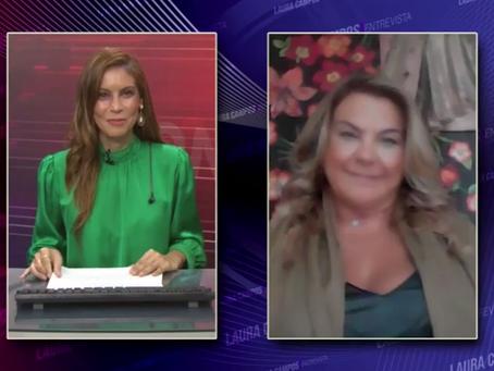 Laura Campos Entrevista - Carlina Jacob