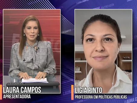 Laura Entrevista - Profª. Lígia Pinto
