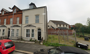 Vacant site in Belfast ready for development
