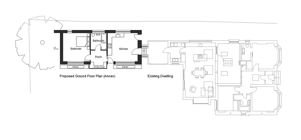 Proposed Ground Floor Plan (Annex)