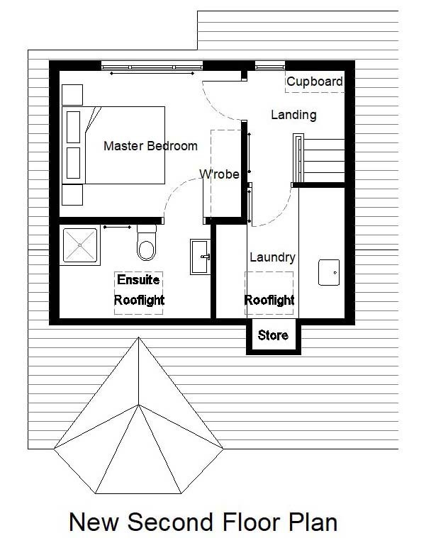 Attic conversion proposed plan