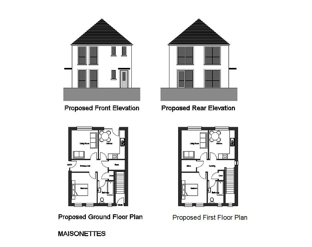 Plans and Elevations for Planning Application