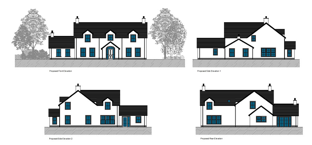Elevations for Planning Application