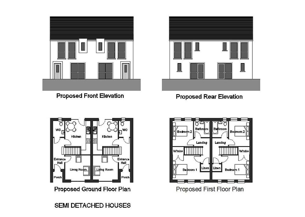 New Semi-detached houses