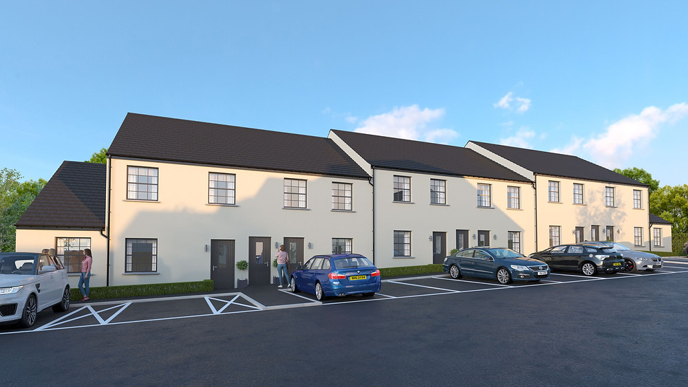 New houses in Newtownards