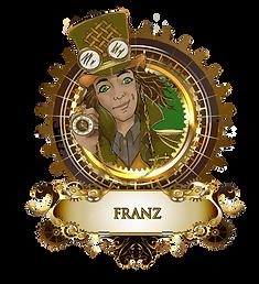 FRANZ 1 MEDALLION dk skin  grn hat  grn