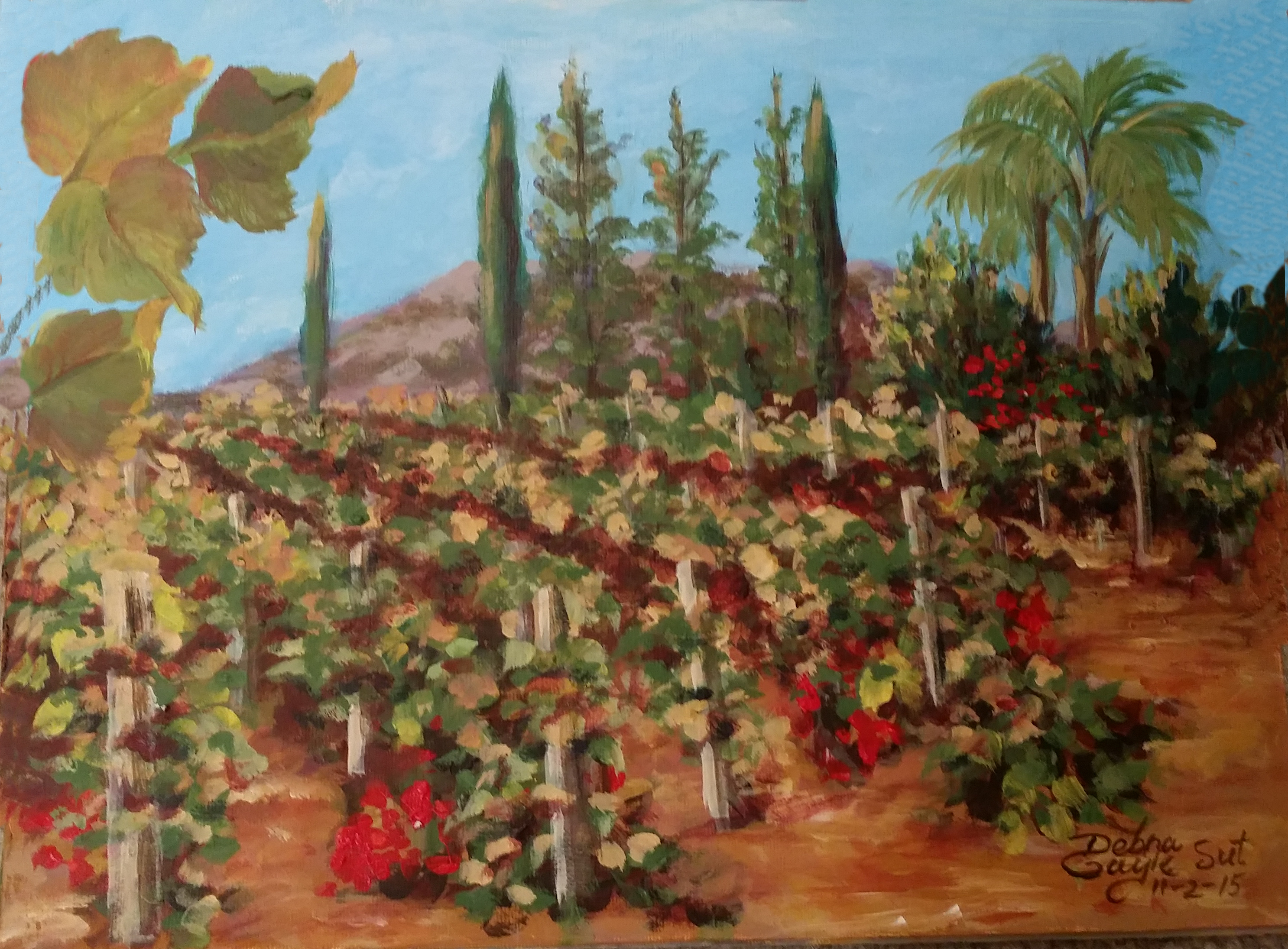 SOUTH COAST WINERY PLEIN AIR