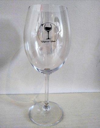 Taça de Cristal Vinho Tinto Viajeinovinho
