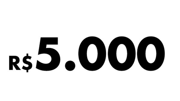 R$5.000