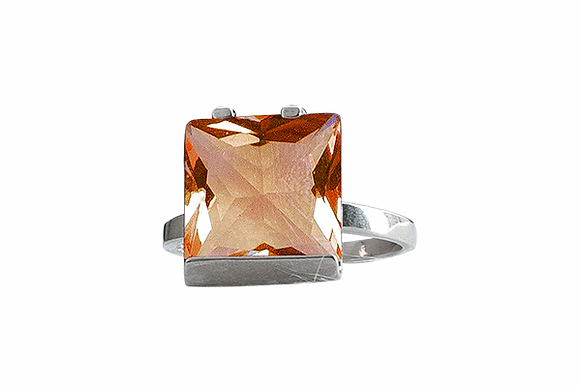 Anillo Fancy Naranja