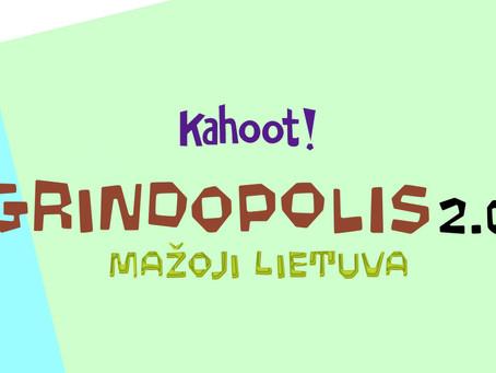 """""""Prisijunk ir išbandyk žaidimą """"Grindopolis 2.0"""""""