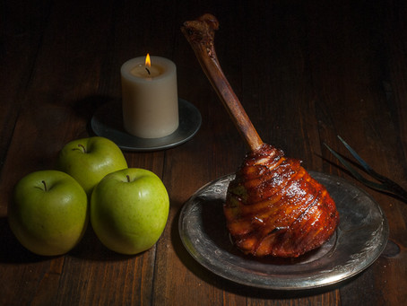 Robin Hood-ish Smoked Medieval Bacon-Wrapped Turkey Lollipop