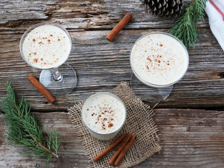 TODAY IS NATIONAL EGGNOG DAY-