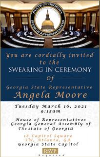 Swearing-In-Invitation