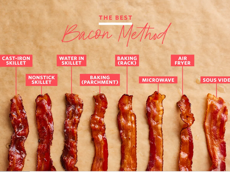 8 Methods of Cooking Bacon; Found an Absolute Winner!