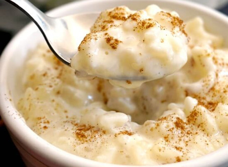Creamy Rice Pudding w/Cooked Rice