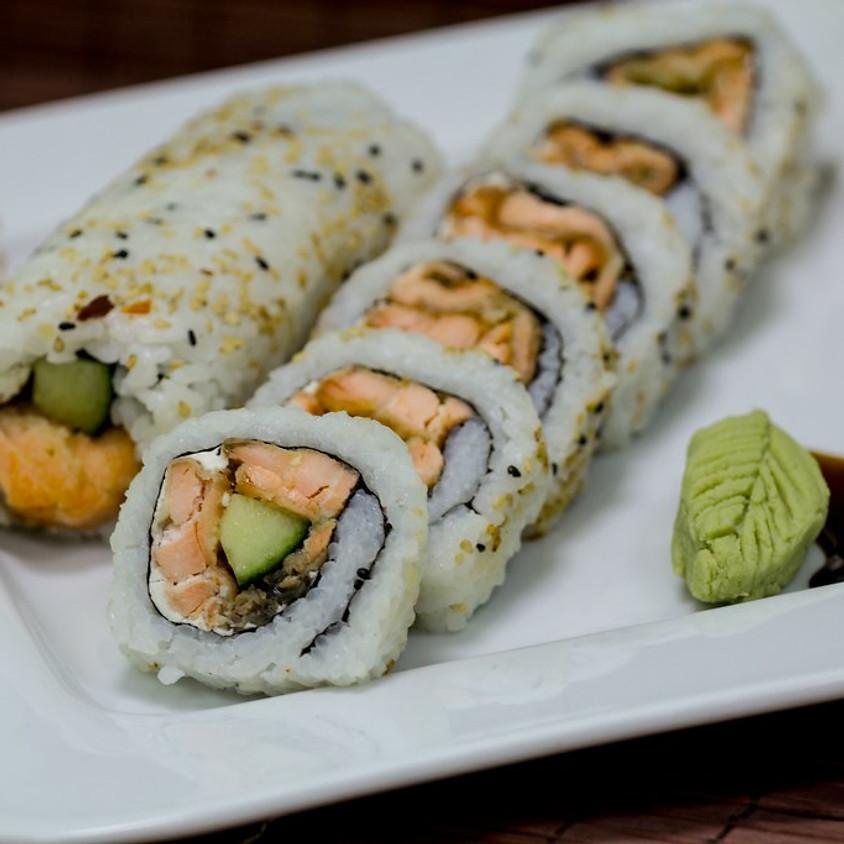 Asian Inspired Cali-Sushi Rolling Workshop